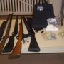 Drugs and guns seized by deputies during search of home