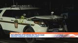 Driver hits two state police cruisers during wrong-way pursuit in Dauphin County