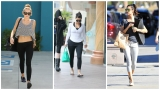 Gallery: Celebs head to yoga and pilates class