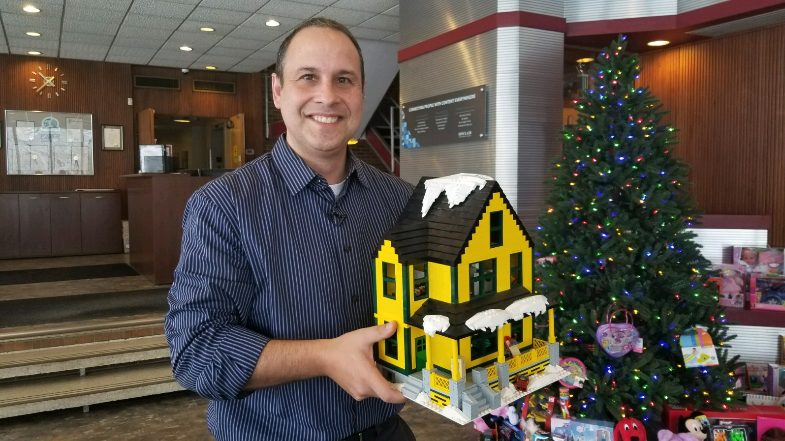 A Syracuse man's loving recreation of the setting for A Christmas Story could become an official Lego set you can buy in stores.