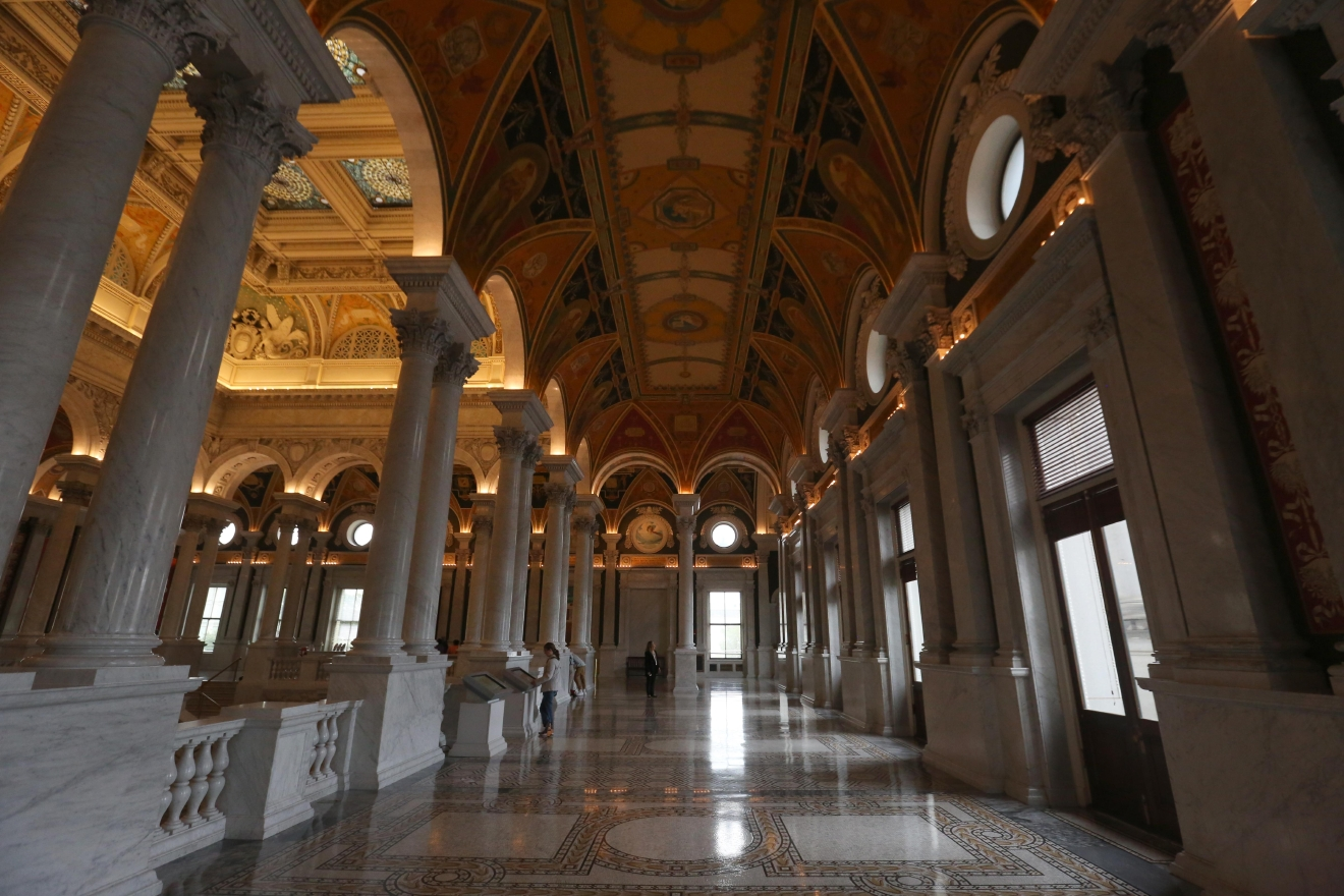 The Library of Congress (Amanda Andrade-Rhoades/DC Refined)