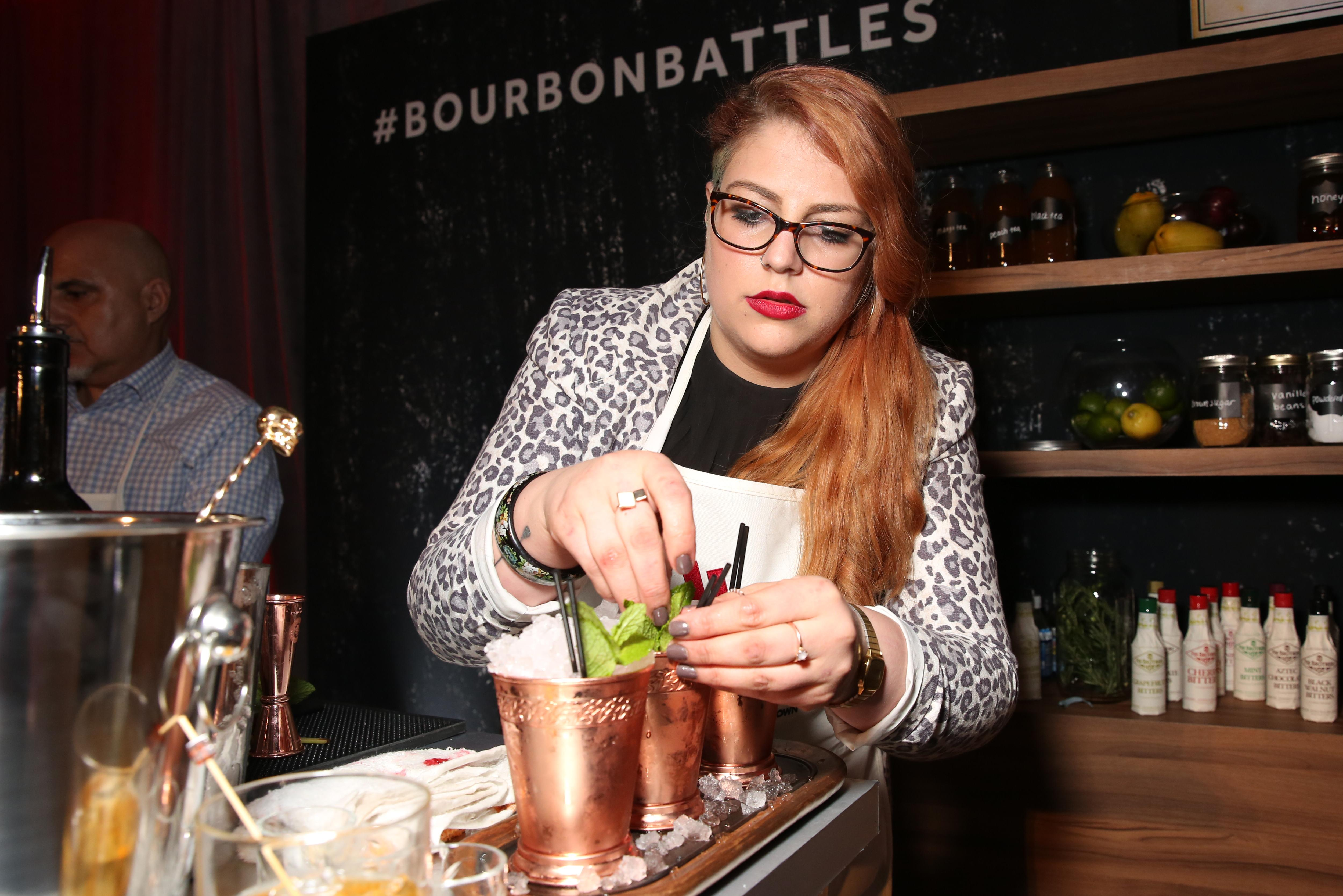 Jessica Weinstein, the beverage director of Hank's Oyster Bar, ultimately came out on top. (Amanda Andrade-Rhoades/DC Refined)