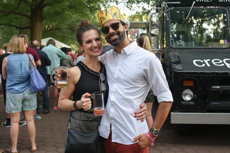 From left, Katie Brennan and Ravi Gill. (Amanda Andrade-Rhoades/DC Refined)