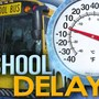 Weather delays some schools