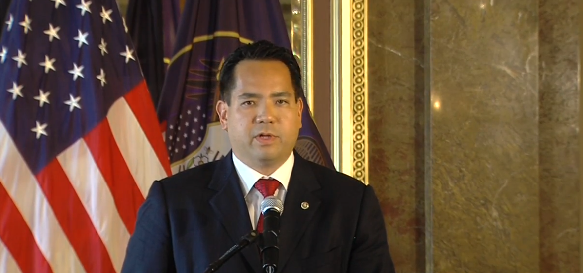 Utah Attorney General Sean D. Reyes announces 2020 re-election bid (FILE Photo: KUTV)