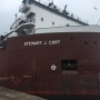 First ships of the season ready to pass through Soo Locks