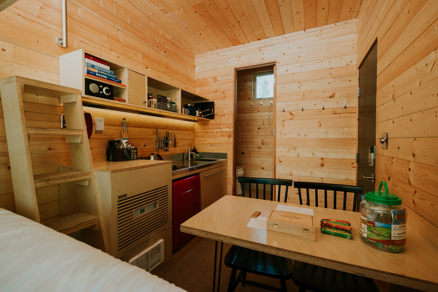 "Before you ask - yes, you've likely seen The Getaway House advertised on 'insert social media platform here.' The adorable little cabins have gone a bit viral online, so we were pleased as punch to be invited to try out their Glenwood, WA cabin (named Bernice!) for the perfect staycation vacation. While you may have initially discovered this getaway online, that's about as much internet time as you'll have if you end up visiting. It's a truly unplugged/screen-free experience, whose whole business model is built on socially distancing (even before the pandemic). There's no wifi or cell service, which allows you to focus solely on those around you and - of course, the great outdoors. One of several cabins throughout the country, Bernice is nestled between Mt. Hood and Mt. Adams, a four hour drive from the Seattle/Tacoma area. While it doesn't have a nearby water source for children to play in, the location made up for it with its incredibly grand vistas. This Getaway House is well-maintained, gorgeous and has all of the things we have come to love in contemporary experiences. And don't worry, you can post about it as soon as you're back home. More info on booking and rates{&nbsp;}<a  href=""https://getaway.house/"" target=""_blank"" title=""https://getaway.house/"">online</a>. (Image:{&nbsp;}<a  href=""https://www.wisdomandcourage.com/"" target=""_blank"" title=""https://www.wisdomandcourage.com/"">Tash Haynes</a>{&nbsp;}/ Seattle Refined){&nbsp;}"