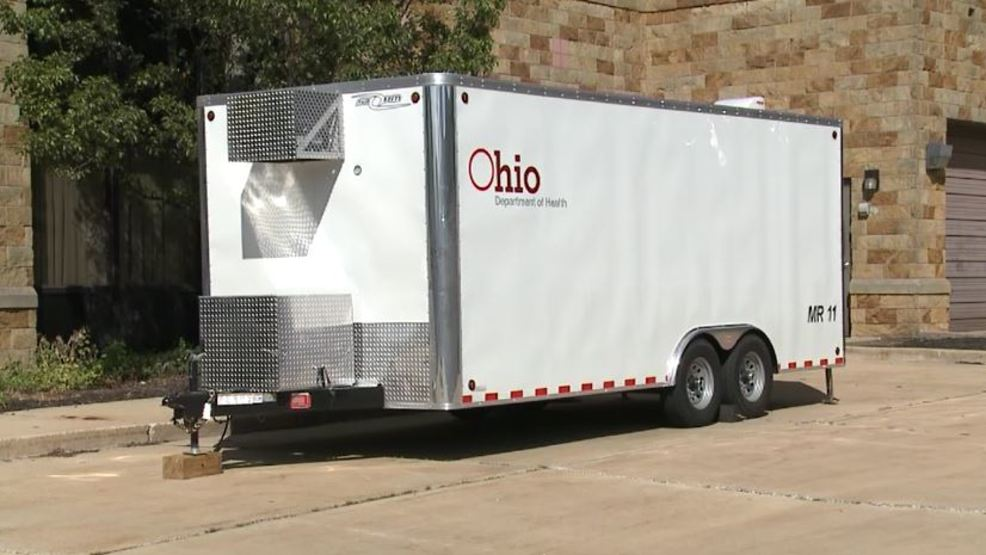 Northeast ohio county brings in mobile morgue in advance for Abc motors akron ohio