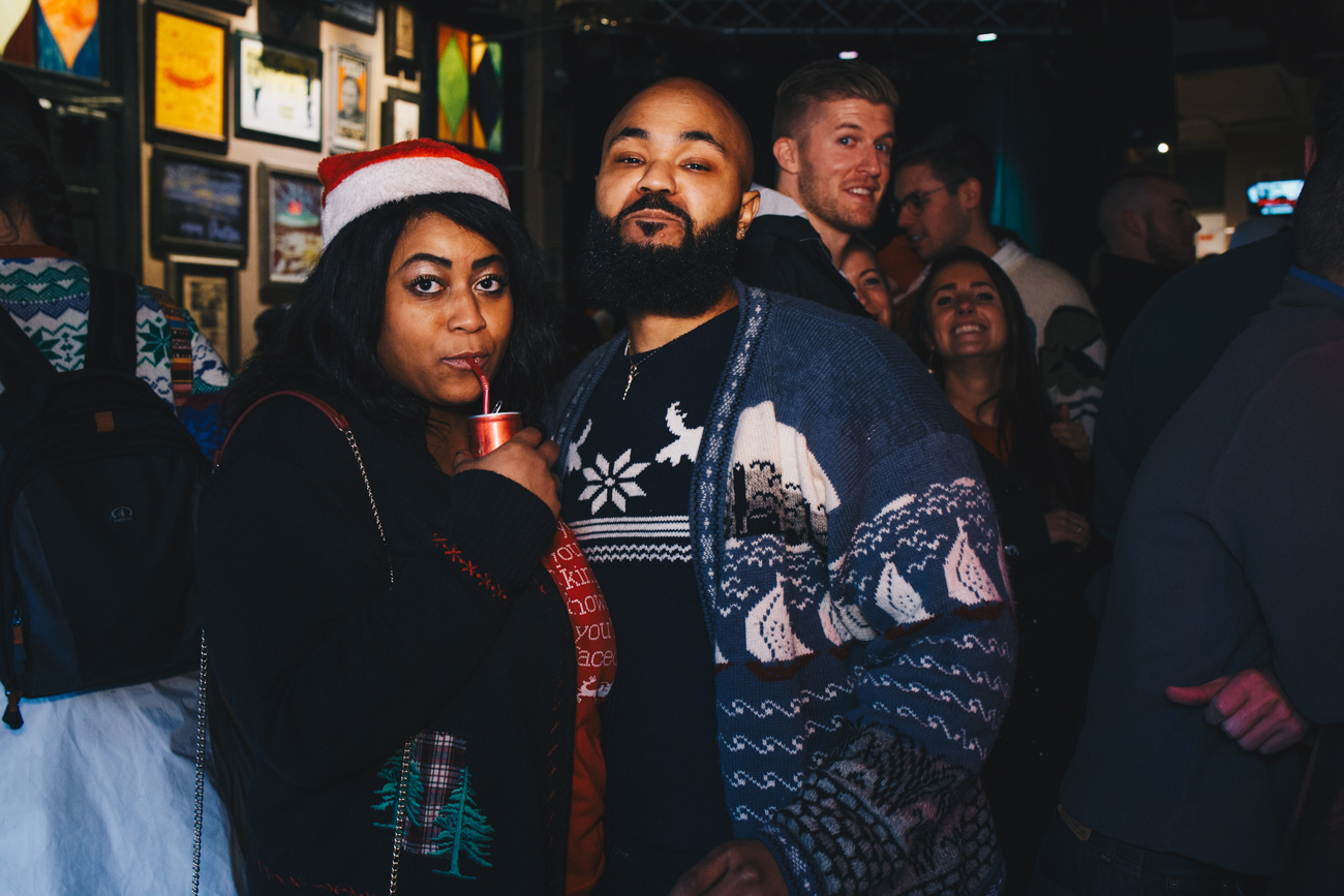 Kia Chenahlt and Preston Redmond at Motr / Image: Catherine Viox // Published: 12.2.18