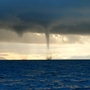 'We lost count at 40' -- Dozens of waterspouts spotted off San Juan Islands