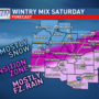 Wintry weekend looms as temperatures plummet