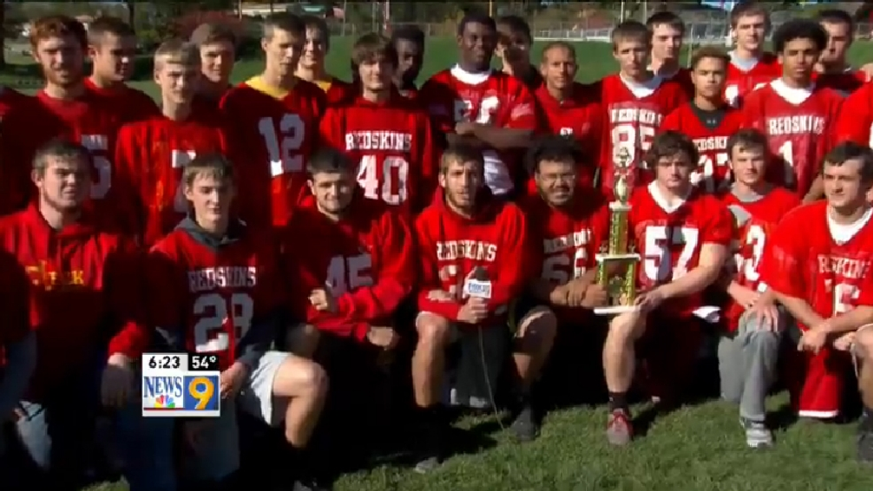 10.27.15 Wheeling Hospital/WTOV9 Team of the Week: Indian Creek Redskins
