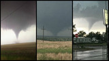 Multiple tornadoes touch down in Oklahoma