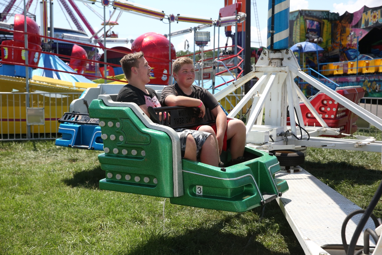 The Montgomery County Fair is back in Gaithersburg, Maryland, with all the trimmings - fried food, farm animals, rides and carnival games. The fair runs from August 12-20. (Amanda Andrade-Rhoades/DC Refined)