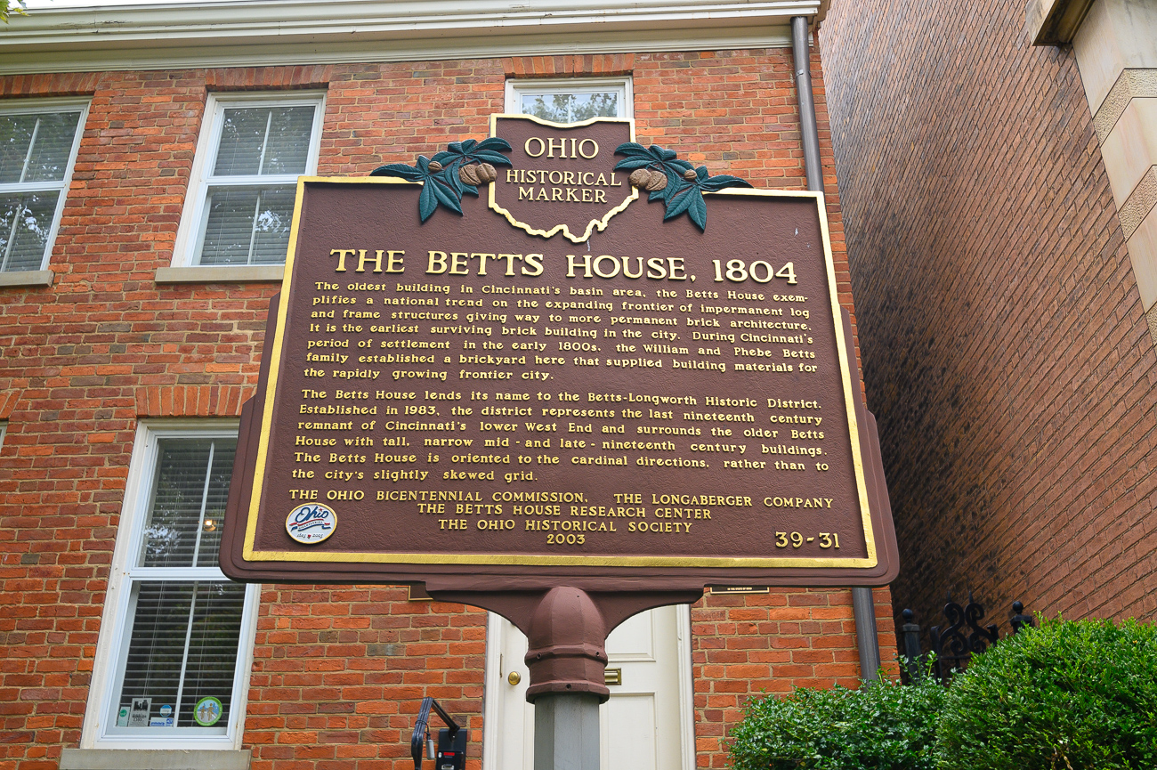 As of this writing, there are two tours dates left in 2019: Saturday, September 28, and Saturday, October 26. The volunteer-led, 90-minute tour explores the history of the Betts House as well as the surrounding region. September's tour coincides with the West End Community Day and discounts walking tour tickets to $5 (from the regular $10). / Image: Phil Armstrong, Cincinnati Refined // Published: 9.6.19