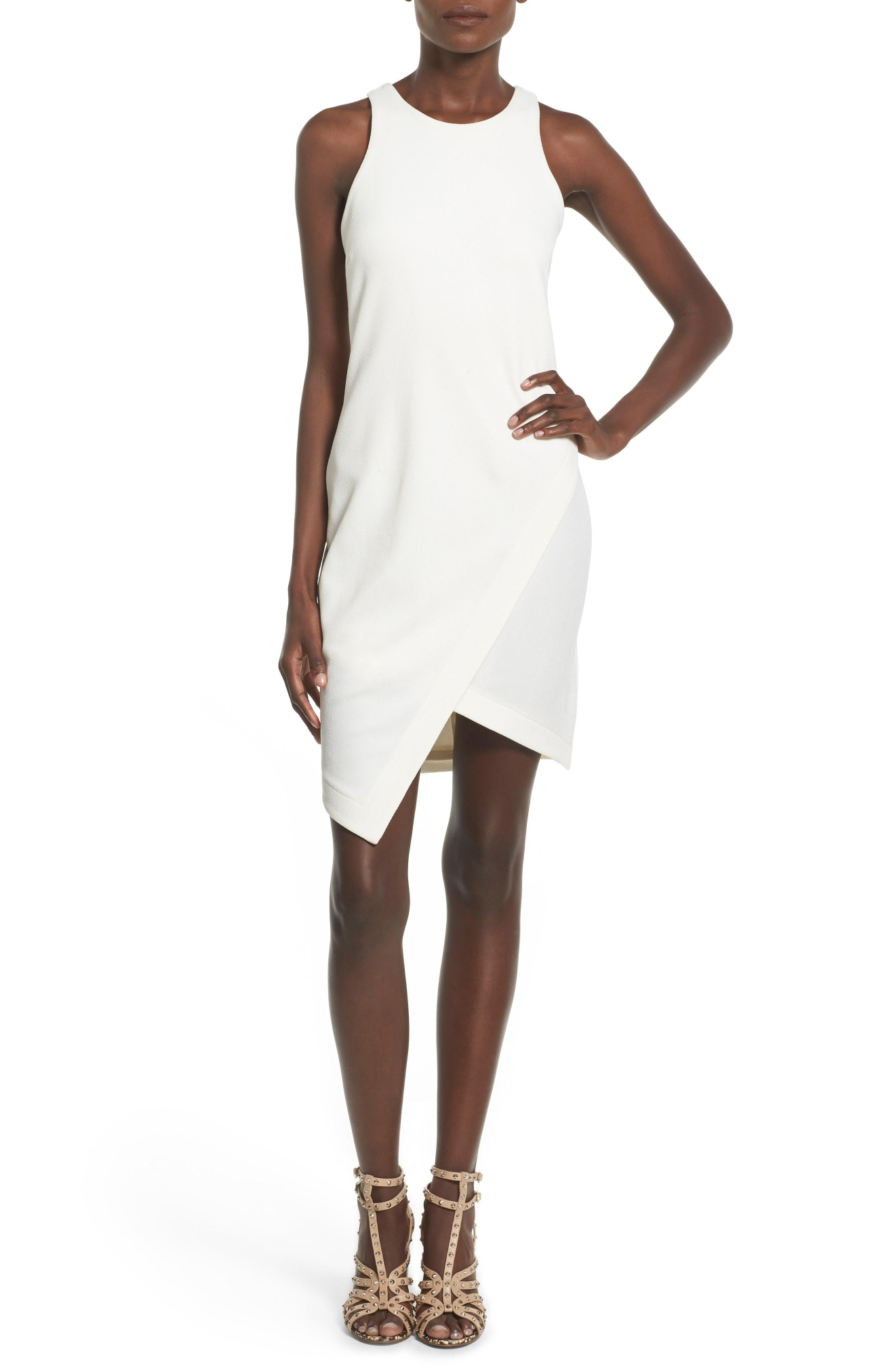 Leith Stretch Crepe Tank Dress, $68,  Nordstrom.com (Image: Courtesy Nordstrom)