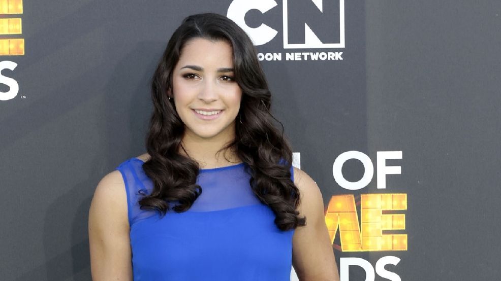 Olympic Gymnast Aly Raisman accepts date with NFL player