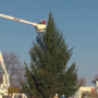 53-foot Christmas tree arrives in Claremore; tree lighting coming up Dec. 4