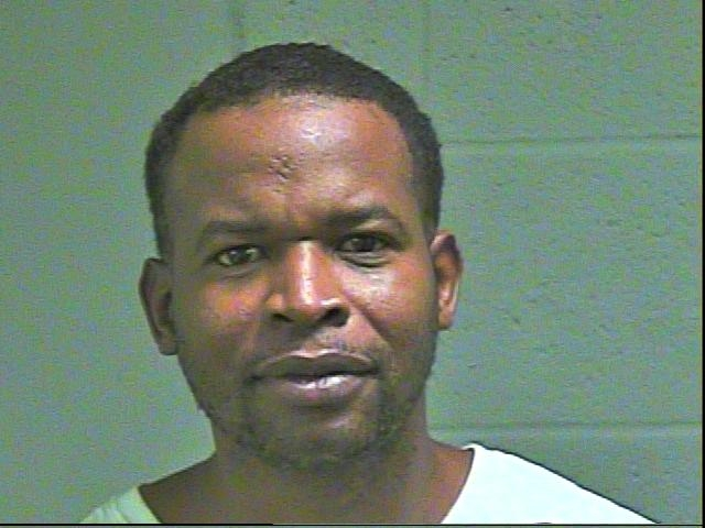 Donell Fraser, 40, was arrested in Oklahoma City on a complaint of pandering. (Oklahoma County Jail)