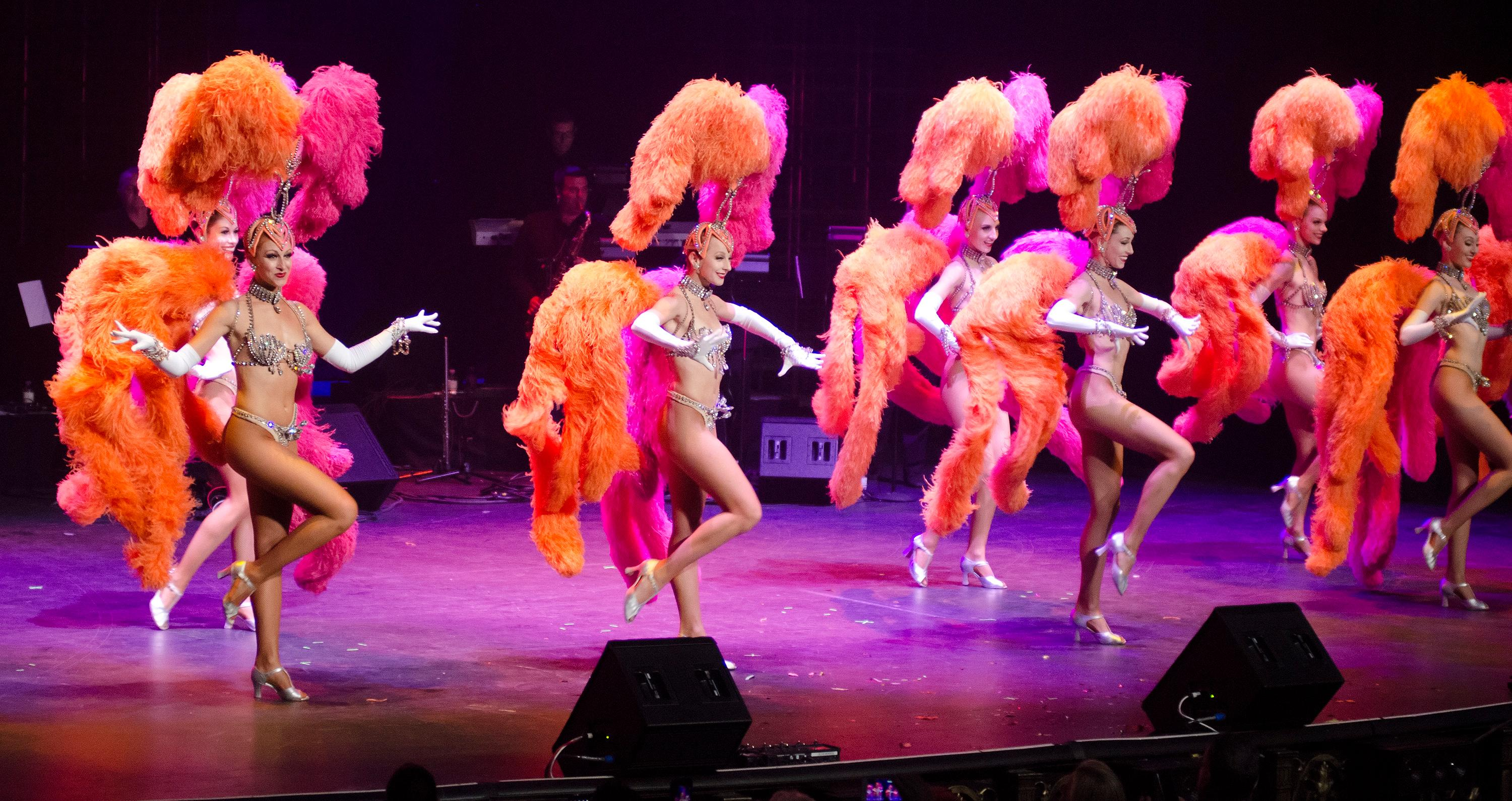 "Dancers from the former ""Jubilee!"" show at Bally's perform during the ""Vegas Cares"" benefit concert at the Venetian Theatre in the Venetian hotel-casino at 3355 S. Las Vegas Blvd in Las Vegas on Sunday, Nov 5, 2017. The concert was sponsored by a group of Las Vegas entertainers, producers and business professionals to honor the victims and first responders from the 1 October shooting tragedy. CREDIT: Bill Hughes/Las Vegas News Bureau"