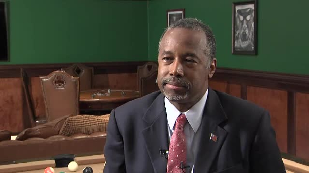 Carson says he would nominate high court justice