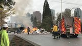 Police: Faulty hoverboard starts fire on board garbage truck in Bellevue