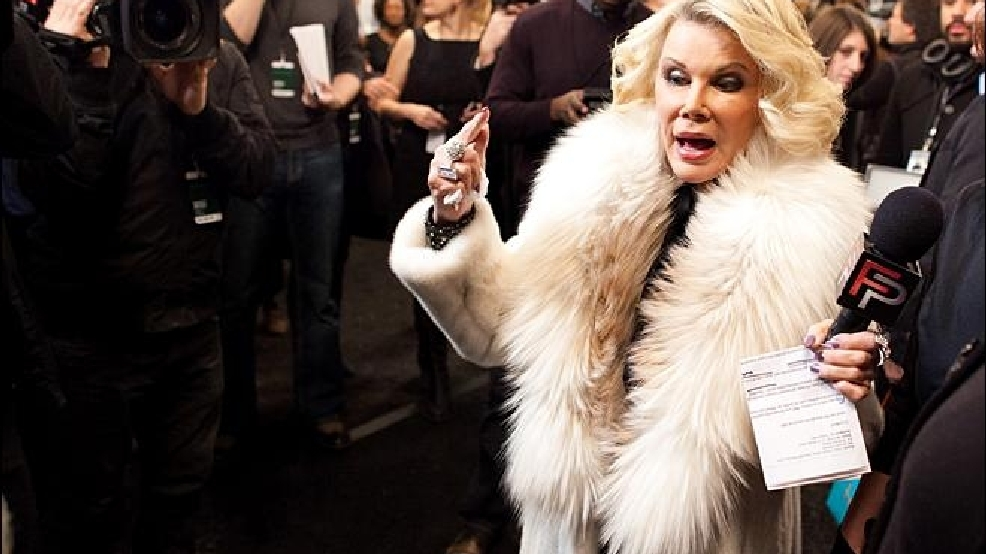 Before her death, Joan Rivers felt ghosts in 'Downton Abbey' home
