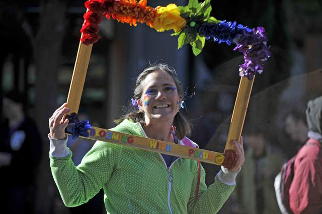 Downtown Ashland hosts the Gay Pride Parade. - Jamie Lusch