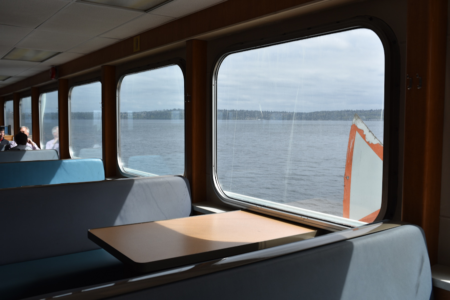 The short 20-minute ferry ride from West Seattle quickly delivers you to Vashon along with a nice change of scenery. (Image: Rebecca Mongrain/Seattle Refined)