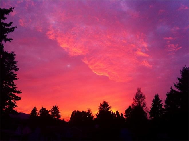 Amazing sunset! By: (Photo: YouNews contributor: Dennisshkinder)