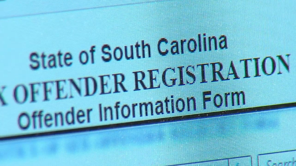 Sex offender register south carolina