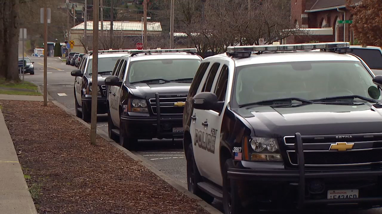 Kent is considering raising utility taxes to pay for more police officers. (Photo: KOMO News)