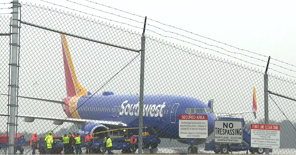 BREAKING NEWS: Plane Reportedly Skids at BWI (WBFF)<p></p>