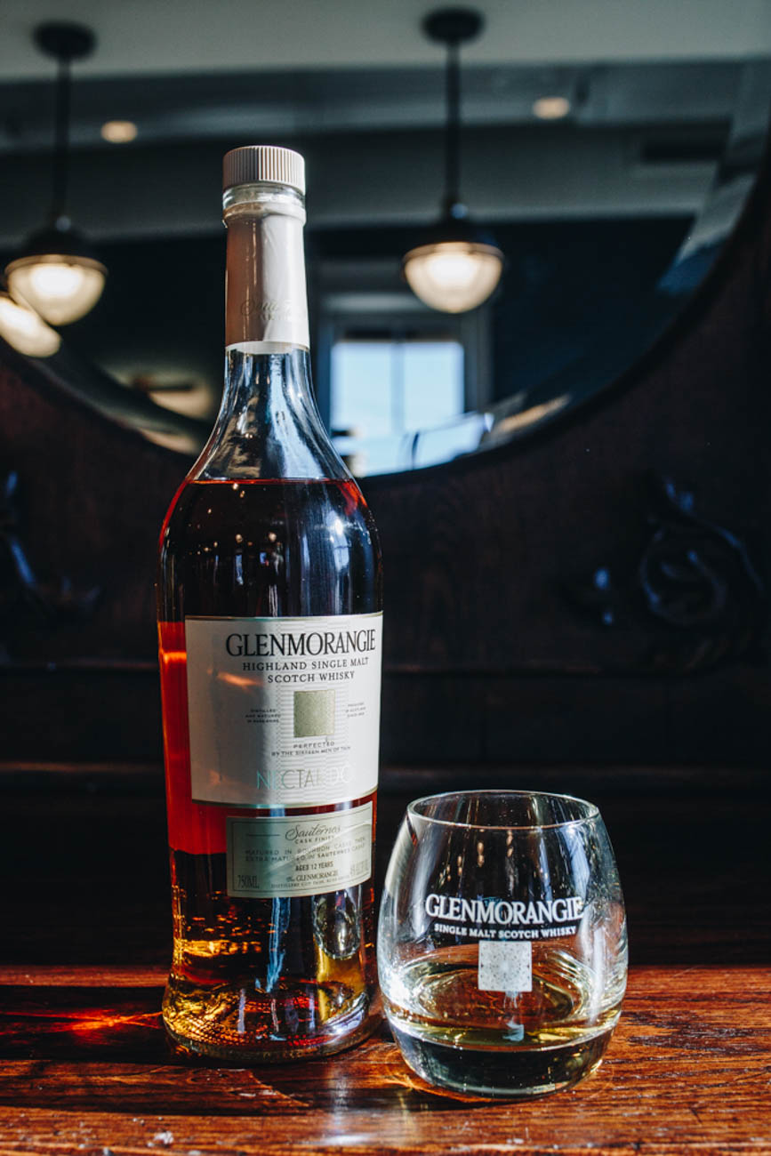 Glenmorangie Scotch Whisky, served to your choosing / Image: Catherine Viox // Published: 1.14.19