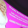 Asheville fans wish Dolly Parton a happy birthday with special event