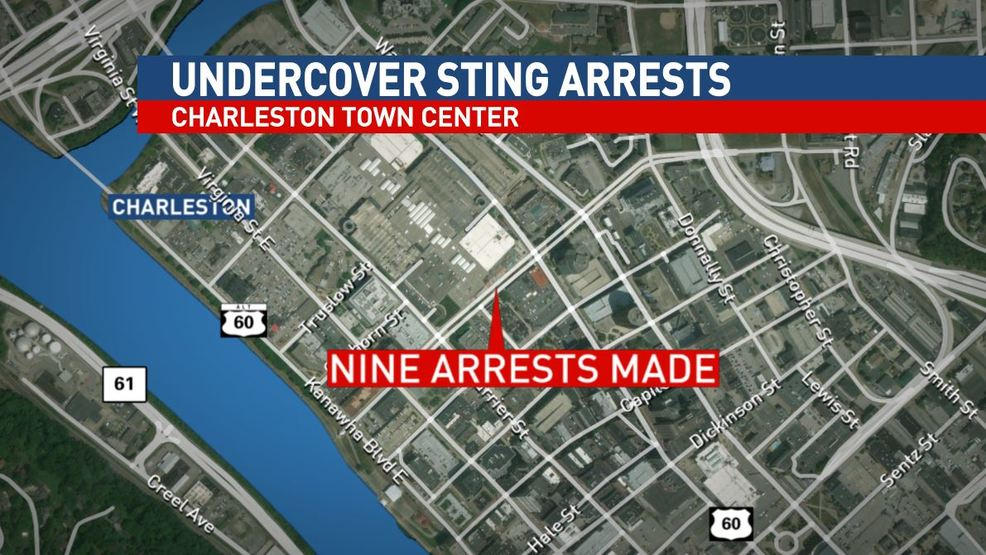Charleston police conduct third undercover sting in a week WCHS