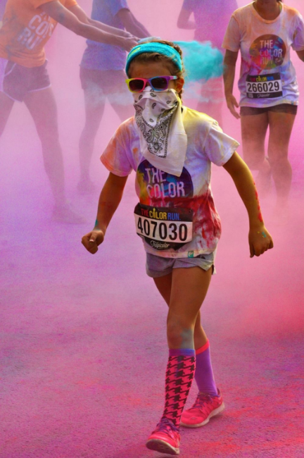 Event: The Color Run (8.6.16) / Image: Molly Paz