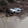 Flood sweeps cabins, cars down canyon in Santa Barbara County