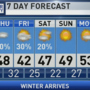 The Weather Authority: Cold Air Settles In Tonight; A Few Snow Flakes Friday Morning?