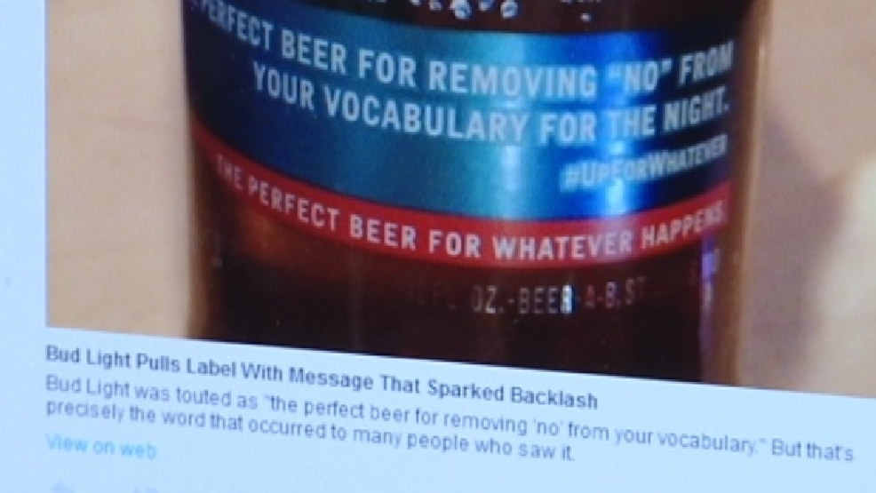 Controversy On Top For Bud Light Following Racy New Slogan