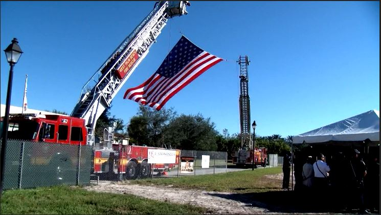 Crews break ground on a new fire station in West Palm Beach.(WPEC)