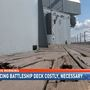 USS Alabama in need of some costly repairs
