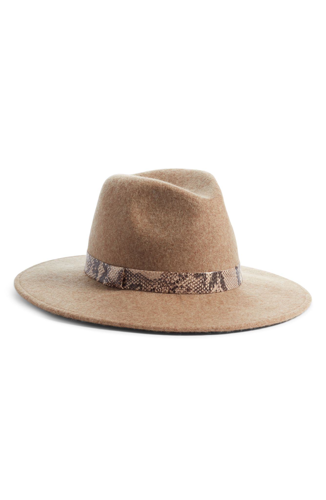 Treasure & Bond Wide Brim Panama Hat (normally $59): NOW $38.99 (Image: Nordstrom){ }