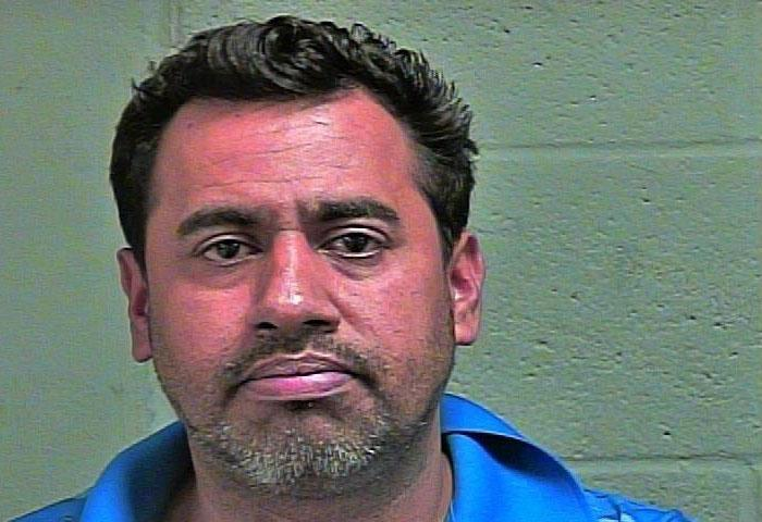 Francisco Lorte, 40, was arrested March 26 in Oklahoma City on complaints of offering to engage in an act of prostitution. (Oklahoma County Jail){ }