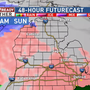 Round two of ice storm expected for early Sunday morning