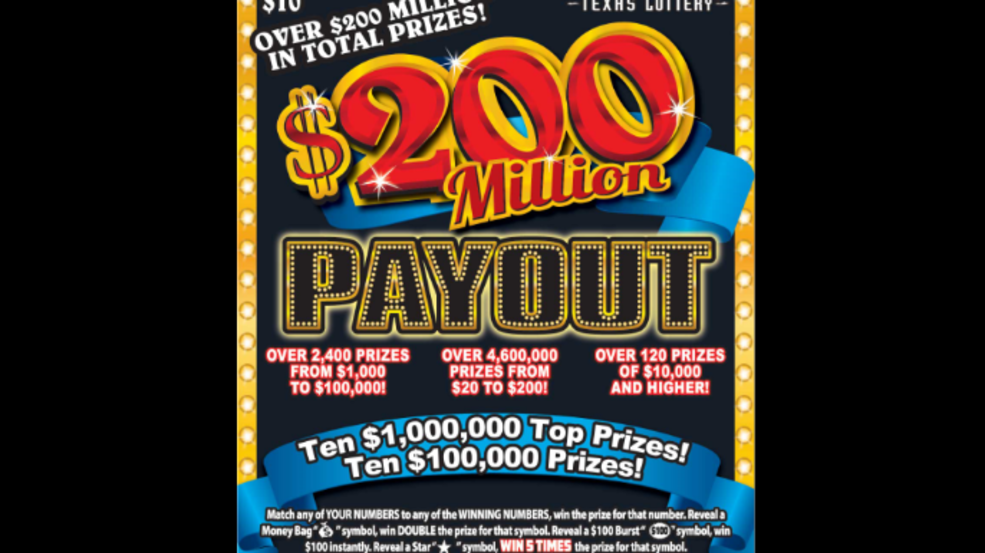San Antonio Residents Claims 1 Million Scratch Ticket Woai