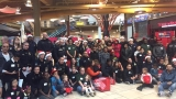 Kids go shopping with Syracuse Police Officers and Firefighters at Destiny USA