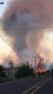 Fire at structure in Cottage Grove. Video courtesy of{ } Sean Sbragia.{ }Thumbnail