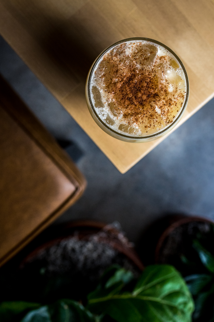 House of Pain: Navy strength rum, spiced rum, orange, pineapple, mongo, coconut cream, and nutmeg / Image: Catherine Viox // Published: 7.3.20