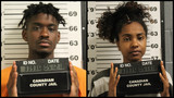 Two arrested after 77 pounds of marijuana found in vehicle during traffic stop